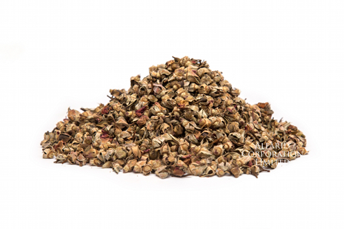A mound of Dried Rose Buds